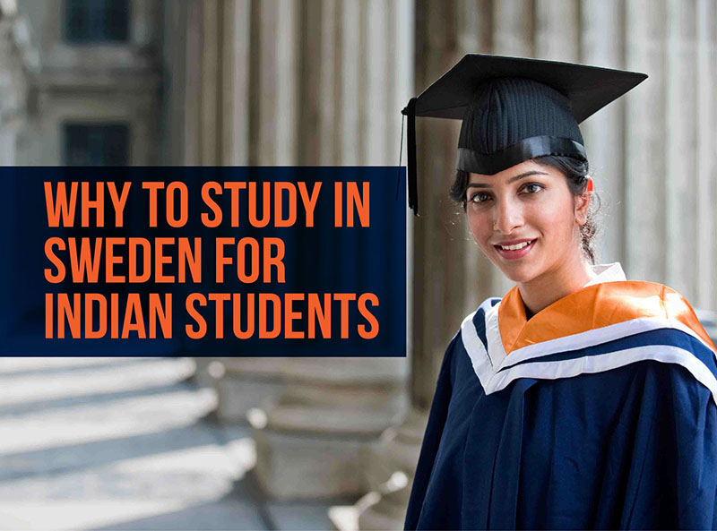 Higher Education in Sweden for Indian Students