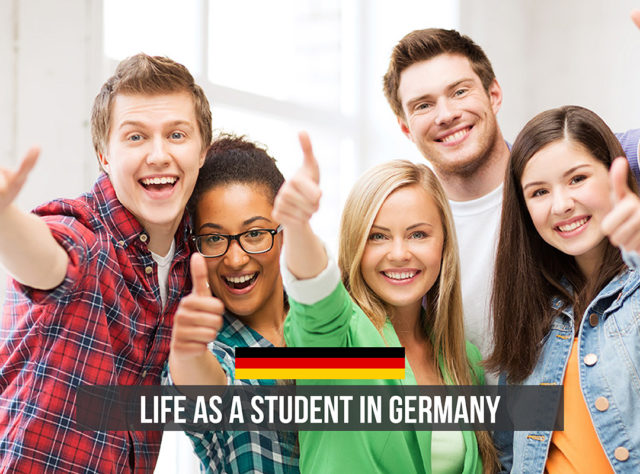 Happy faces, Life as a student in Germany